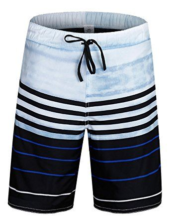 0c52a1a8c728b ELETOP Men s Swim Trunks Quick Dry Board Shorts With Mesh Lining and  Pockets YN Series Review