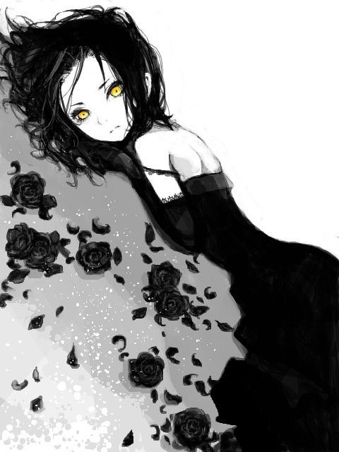 she was alone, no one cared to think about her. she would always have ravens around her and she hated anything bright. but maybe it because she was different, maybe its because she was a vampire. (RP)