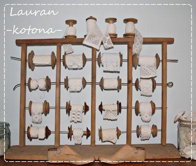 Lauran kotona: Puolateline ja vaakoja