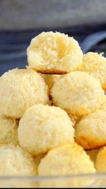 A sua família vai amar essa receita de biscoito de coco fácil e delicioso!