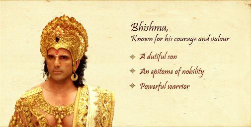 mahabharata bhishmar's character