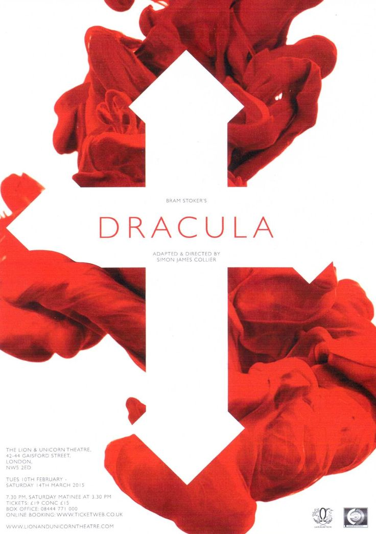 Dracula, Lion & Unicorn Theatre, London, 2015