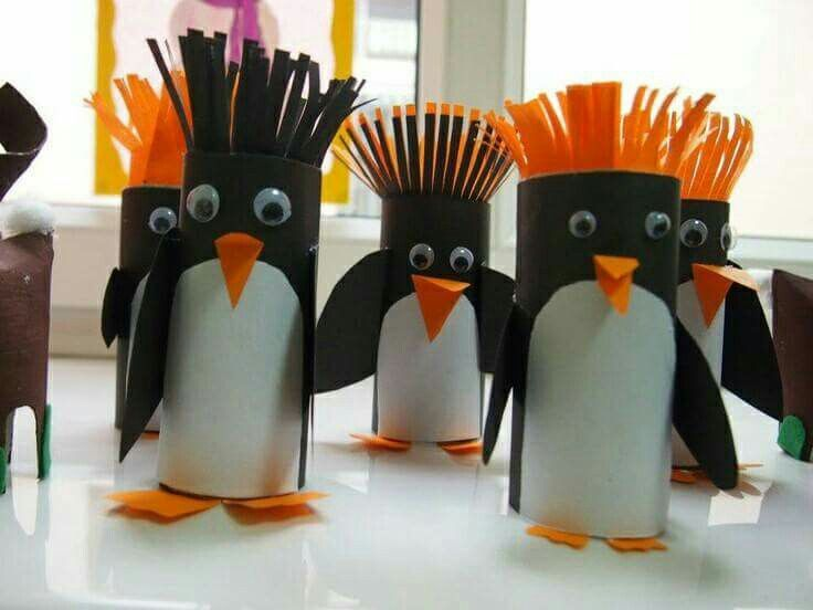 Pinguin wc rol