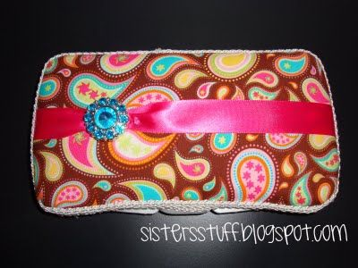 My Creative Way: Guest Blogger, Sisters from Sisters' Stuff. Super cute wipe case! Sister in law has one and I love her's!