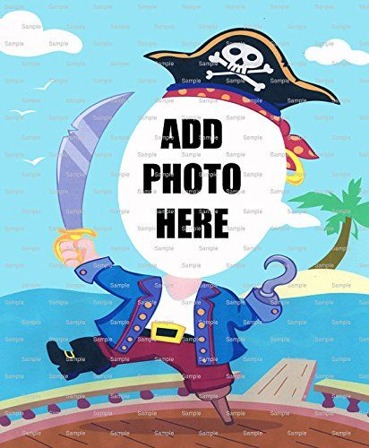 12 Sheet  Pirate Birthday  Cake Photo Frame  Edible CakeCupcake Topper -- Details can be found by clicking on the image.(This is an Amazon affiliate link)