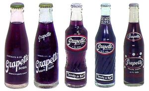 """Grapette Soda! The company was founded in the 1930s in  the small town of Camden, Arkansas ~ this soda is still produced today in the state and available in Wal-Mart exclusively. It was named one of the top """"Flavors of the South"""" by Southern Living Magazine."""