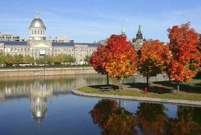 Le vieux Montréal au Canada