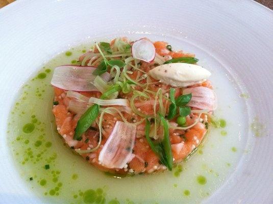 Salmon Tartare from Aureole