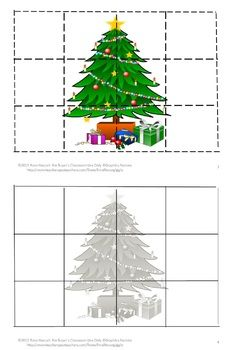 Christmas is an exciting time for children so a puzzle is great when they need some quiet time. This set of contains 32 pages of cut and paste Christmas puzzles. All the puzzles have a Christmas theme. There are Christmas trees, Christmas presents, Christmas bells, Christmas wreaths, and Christmas teddy bears to name a few. Students will enjoy these Christmas inspired puzzles