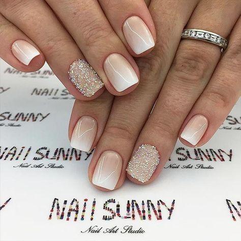 Pretty winter nails art design inspirations 10