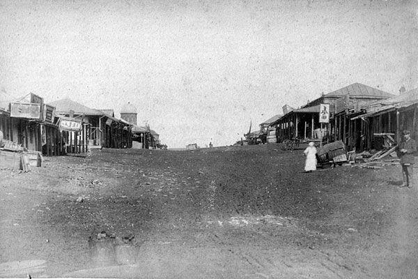 Базар. Главная улица 1887
