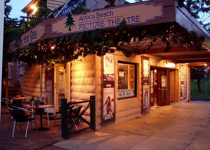 Outside Avoca Beach Picture Theatre!