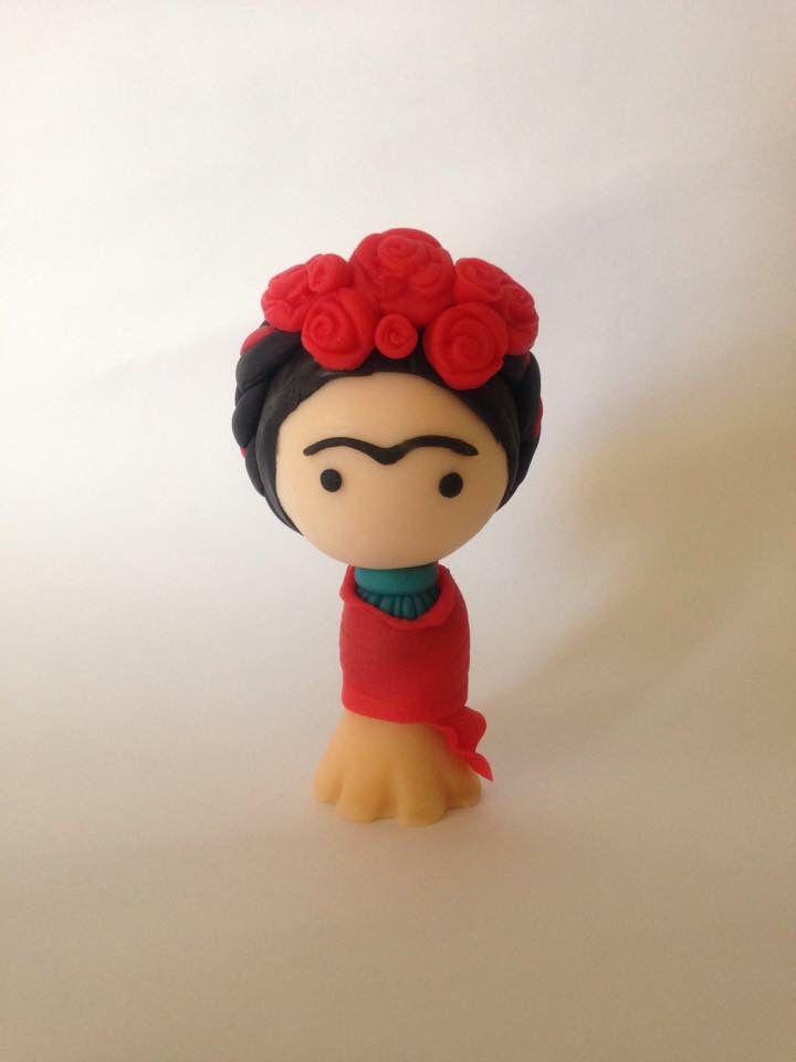 Clay Frida Kahlo, handmade!