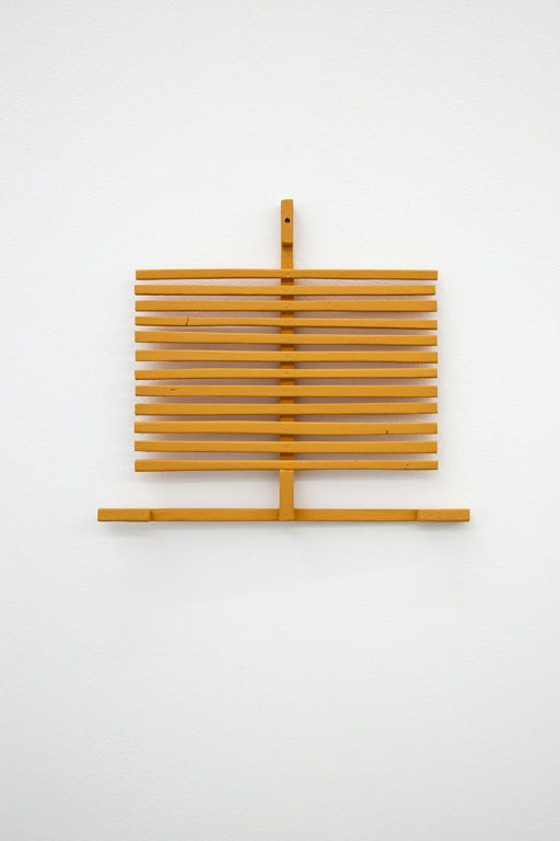 David Blackaller, 'August', 2013, Painted and waxed wood, 30 x 34cm