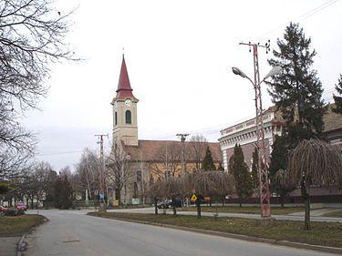 Péterréve - A falu központja