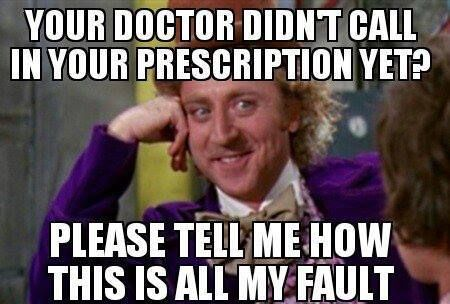 It's always my fault..