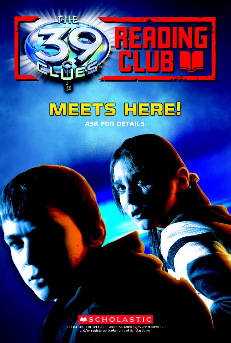 Create A The 39 Clues Reading Club And Get A Free Starter Kit, Monthly Theme
