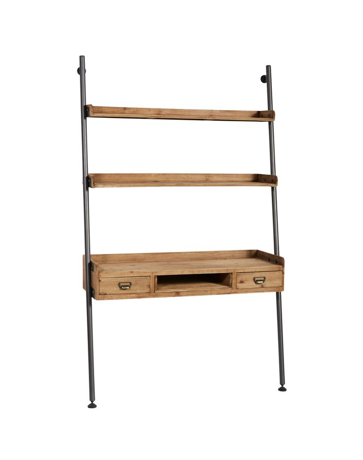 Hudson Wall Desk l Sustainable Timber Desk l Industrial Style Office