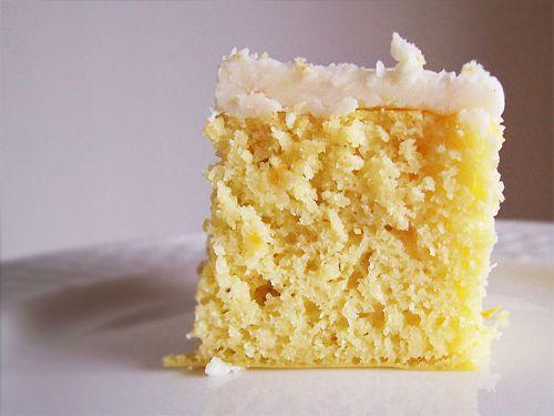 Coconut Flour Orange Cake with Coconut Oil Frosting #glutenfree #grainfree #paleo