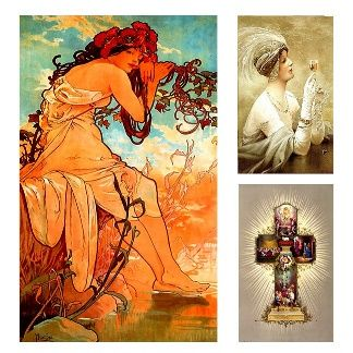 Gift ideas from vintage artwork.