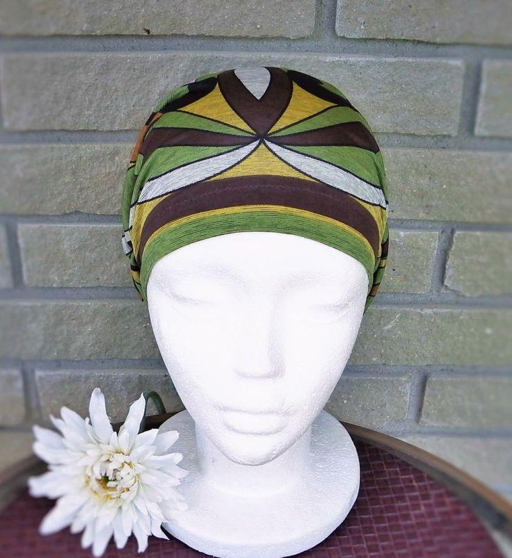 Bonnet chimio femme  bérêt souple mode, perte de cheveux, adultes, à joli motif, cancer, printemps,été,automne, intérieur et extérieur de la boutique BleuKaktus sur Etsy