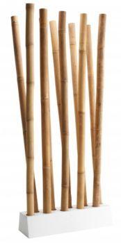 Awi s paration de pi ces s jours meubles fly for Bambou interieur deco