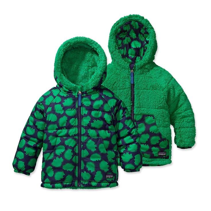 Patagonia :  Baby Reversible Tribbles Jacket