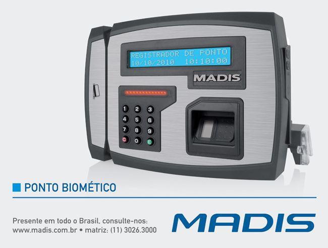 O Ponto Biométrico é um dos modelos mais avançados para atender à legislação da Portaria 1510/09 do MTE, que trata da obrigatoriedade de uso de Ponto Eletrônico para controle e registro de jornada de trabalho de funcionários.