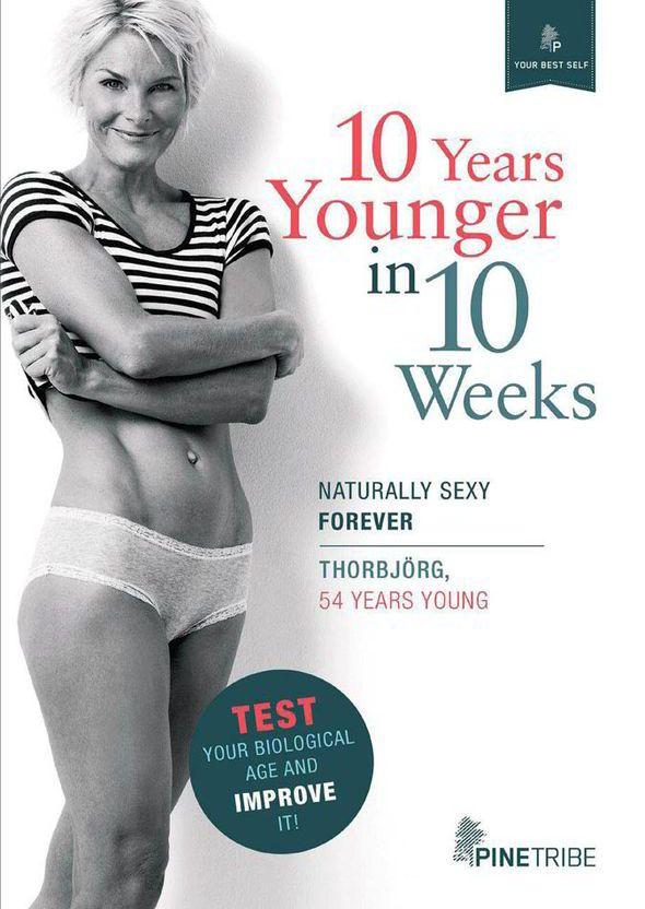 Thorbjörg Hafsteinsdottir, scandinavian, anti-ageing, guru, diet, clock, diet, health, age, women, 10 years younger in 10 weeks, sugar, fat, cravings,