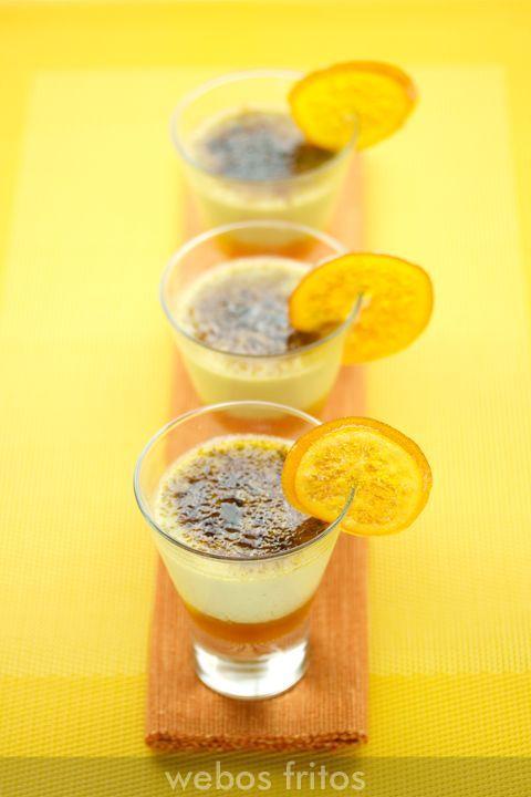 Hoy una receta para un día especial explicada paso a paso crème brûlée foie