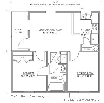 images about Guest house plans on Pinterest   Floor Plans       images about Guest house plans on Pinterest   Floor Plans  Guest Houses and One Bedroom