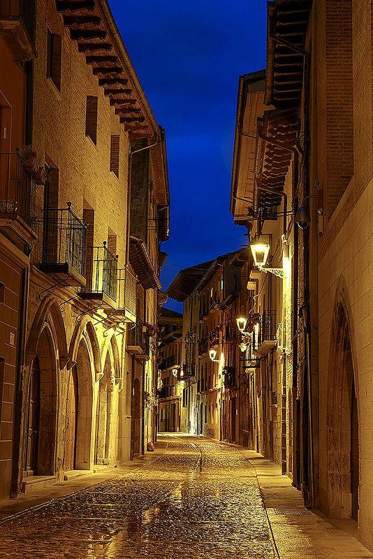 Camino de Santiago, Estella, Navarre. Spain