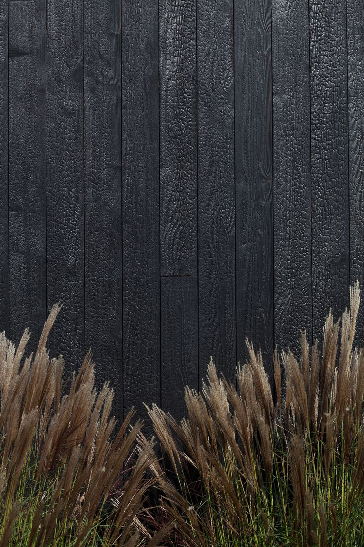 Charred Larch Wood Cladding · Russwood Timber