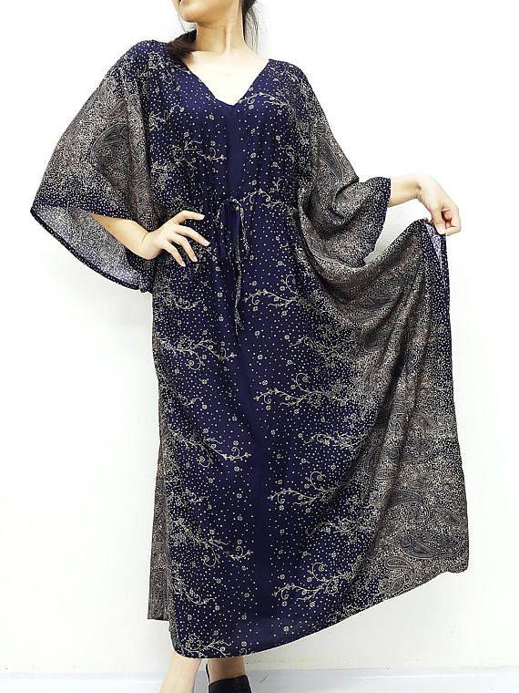 Plus Size, V neck, Rayon Kaftan, Beach Kaftan, #clothing #women #dress @EtsyMktgTool http://etsy.me/2yiVgiK #beachcover #wrapscarf