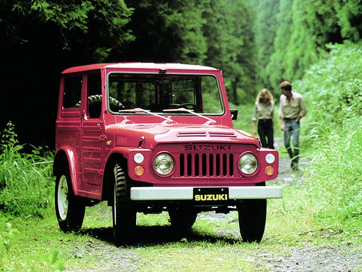 Suzuki Jimny is a line of off-road vehicles from Suzuki produced since April 1970.The history of Suzuki four-wheel-drive cars dates to 1968. Suzuki bought former Japanese automaker Hope Motor Company which had introduced fifteen small off-road vehicles called the HopeStar ON360. The first Suzuki-branded 4-wheel drive, the LJ (Light Jeep), was introduced in 1970. #Off #Road #4x4 #Suzuki #Samurai #SJ #LJ #Jimny #Vitara #X90 #Grandvitara #SX #StanPatzitW