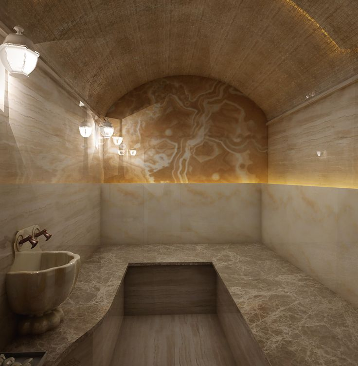 Фото спроектированной турецкой бани Хамам