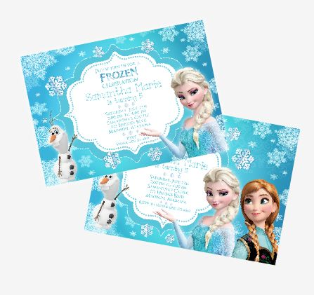 DISNEY's FROZEN Theme Birthday Party Ideas + FREE Printable Thank You Tags and more! ~ Kroma Design Studio | Today's Party Ideas