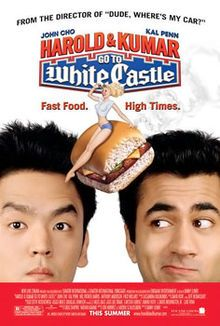 Harold & Kumar Go To White Castle (2004). An Asian-American Office Worker and His Indian Stoner Friend Embark On A Quest To Satisfy Their Desire For #WhiteCastle Hamburgers. -Starring John Cho, Kal Penn