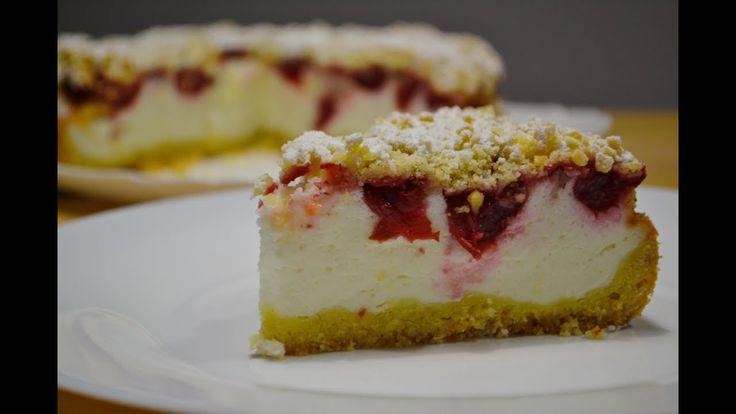Пирог с Вишней и Сметанным Муссом  | Cherry pie