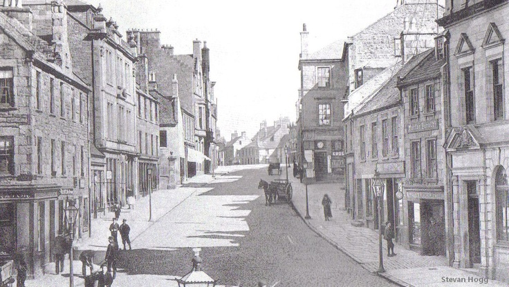 Forfar East High Street 1912