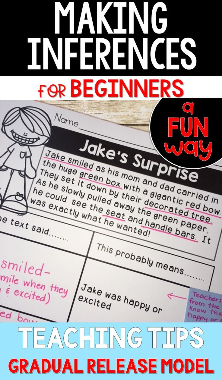 Making Inferences For Beginners Making Inferences Mentor Texts Text Evidence