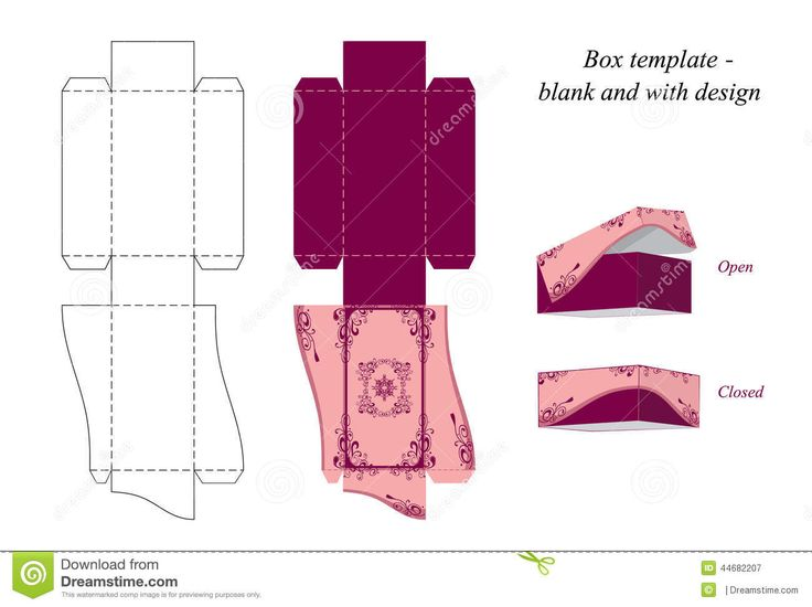 boxes designs templates