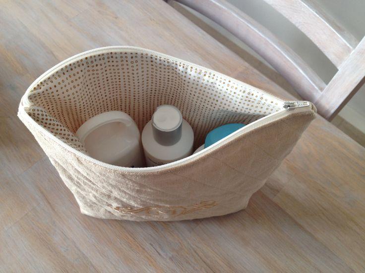 Toiletry bag for shampoo's etc.