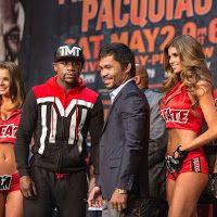 Mayweather y Pacquiao superaron el pesaje