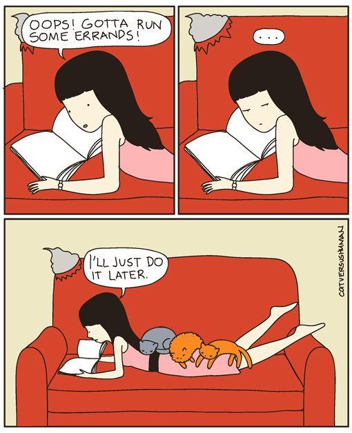 From Cat vs Human by Yasmine