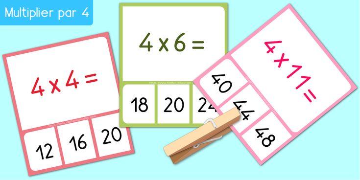 Les 55 meilleures images du tableau multiplication - Table de multiplication jeu en ligne ...
