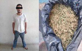 Policías estatales detienen a presunto narcomenudista en la costa