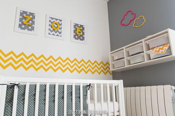 La chambre bébé de Zoé