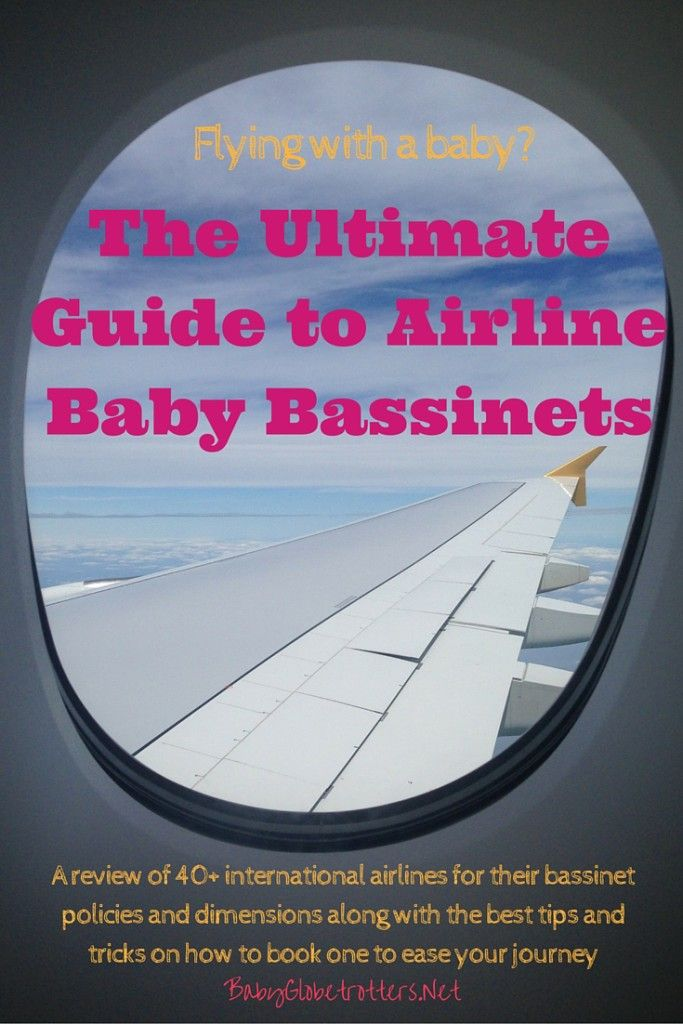 Flying with a Baby? Don't go before reading the Ultimate Guide to Baby Bassinets | BabyGlobetrotters.Net