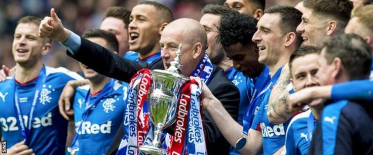 Warburton led Rangers to the Championship title and promotion last season   Rangers have replaced Mark Warburton as manager with under-20 coach Graeme Murty ahead of Sunday's Scottish Cup tie with Greenock Morton.  The Scottish Premiership club say they have accepted the resignations of Warburton, assistant David Weir and head of recruitment, Frank McParland.